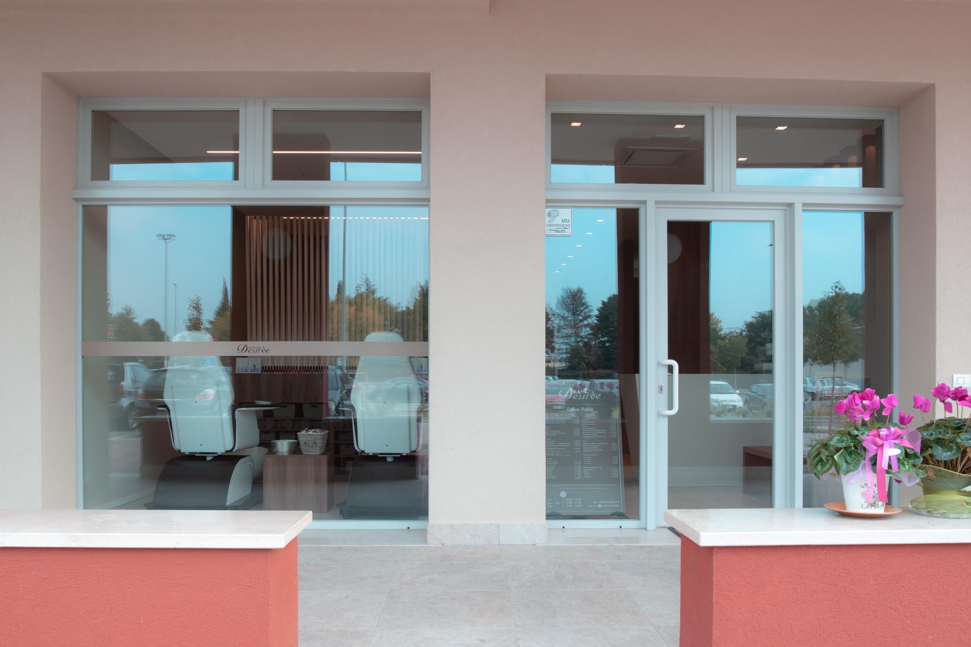 Centro estetico Desirèe entrata